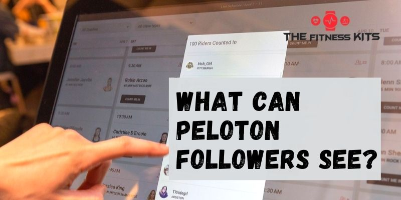 What Can Peloton Followers See